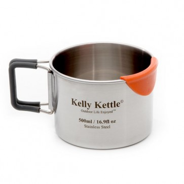 Large Stainless Camp Cup