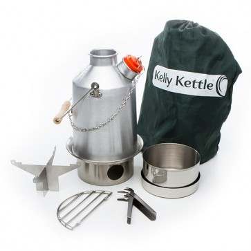 Aluminum Medium Scout Kelly Kettle® - Basic Kit