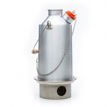 Base Camp - Large Aluminum Kelly Kettle with SST Fire base