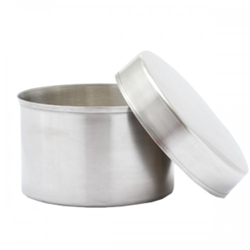 Small Stainless Steel Cooking Pot with Lid