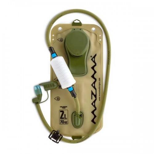 Sagan Inline Purifier assembled in bladder