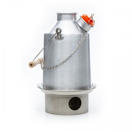 Scout - Medium Aluminum Kelly Kettle with SST Fire Base
