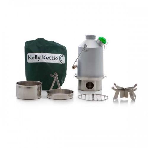 Aluminum Medium Scout Kelly Kettle® - Basic Kit