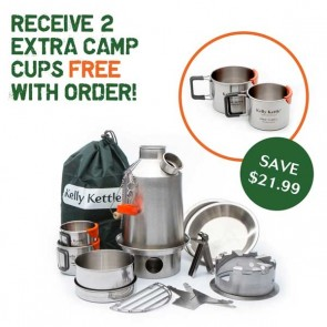 Ultimate Stainless Scout Kit - Free Extra Cups - Special Offer