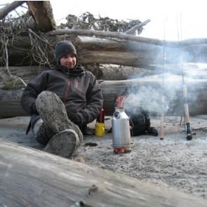 Kelly Kettle® Trekker – Small Stainless Steel Camp Kettle