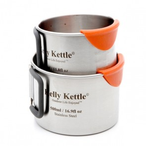 Kelly Kettle® Cups – Stainless Steel Camping Cups