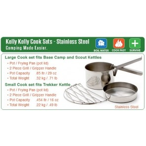 Large Cook Set (Large & Medium Kettle)