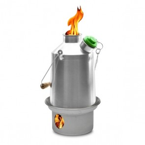 Kelly Kettle® Scout – Medium Stainless Steel Camp Kettle