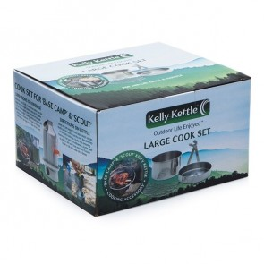 (PRE-ORDER - Expected in stock Nov. 10) Large Cook Set (Fits Base Camp & Scout Kettles)