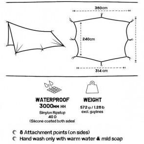 Tarp - Ultralight Waterproof