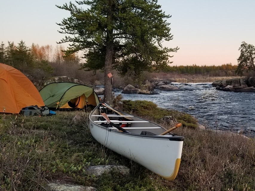Our first canoe trip, and I wish I would have had a kettle to use.  We will be planning to do more trips and would love to have a kettle for those future trips.  The Manitoba wilderness is huge and lots to explore.