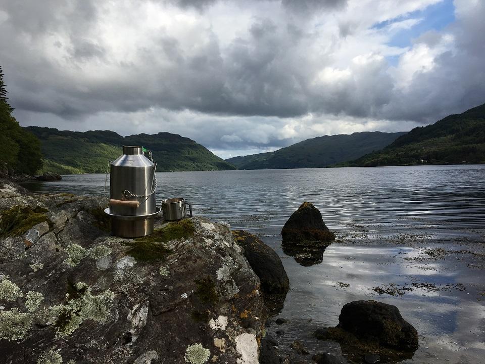 Lochside cuppa
