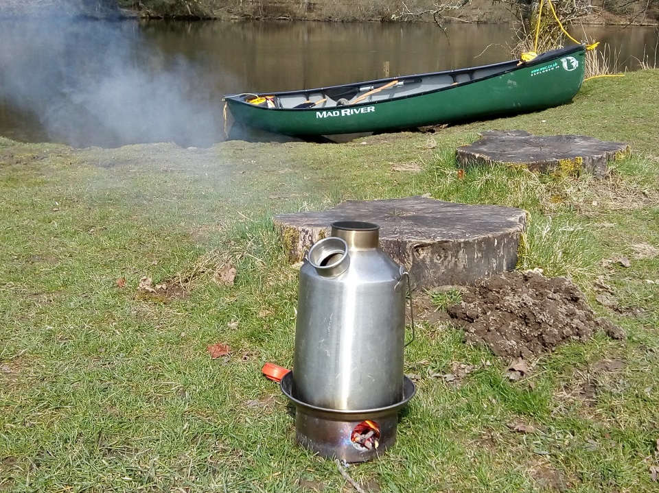 Kelly Kettle, love it! We use it all the time on our canoe expeditions