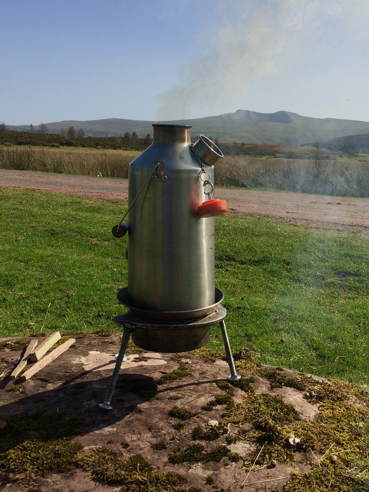 Brewing in the Brecon Beacons (Mynydd Illtyd Common, Brecon Beacons, Wales, U.K.)
