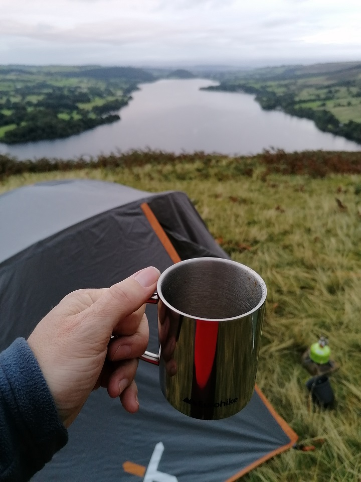 My first wild camp. Just starting new adventures (Halam fell lakes, U.K.)