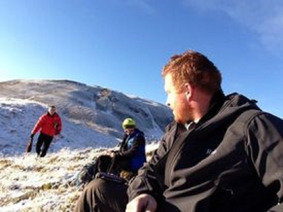 'is that kettle on yet?' taken on Ben Nevis (Scotlands highest Mountain) boxing day