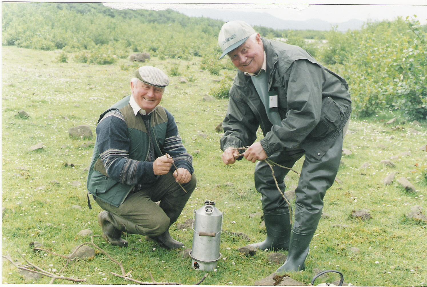 Founding Fathers - Padraig Kelly & Frank Ellis - Lough Conn, Ireland