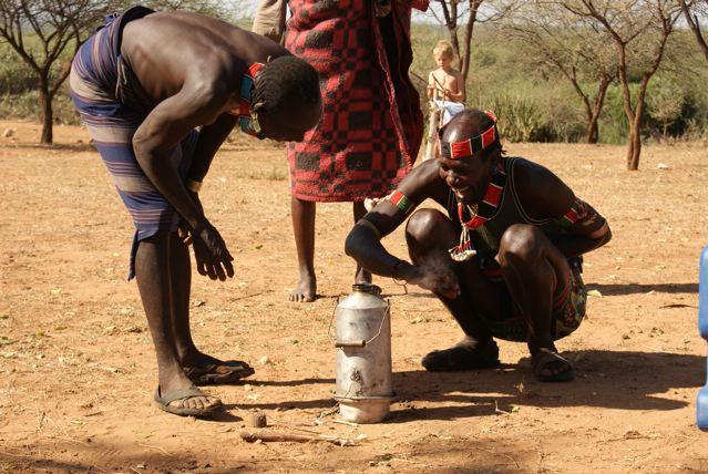 Hamer Tribesmen Ethiopa