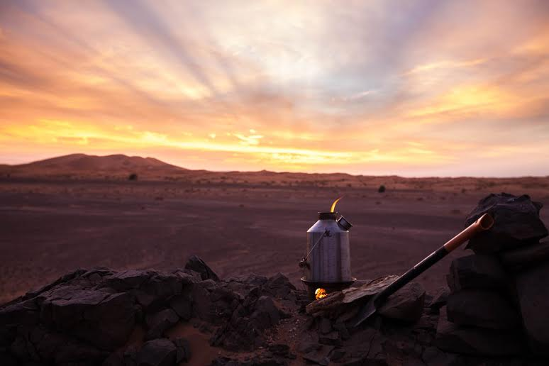 Kelly Kettle in Morocco