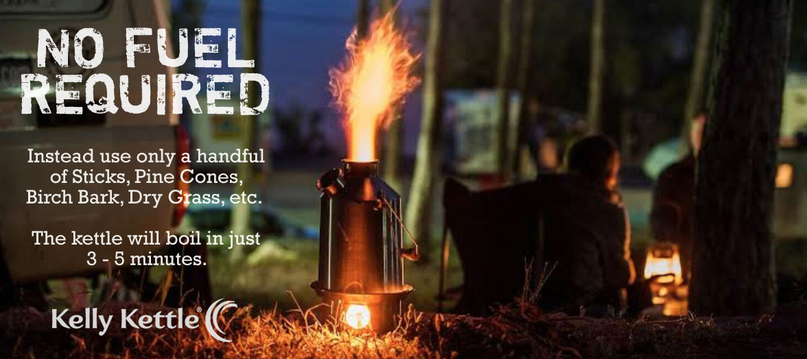 Kelly Kettle - No Fuel Required