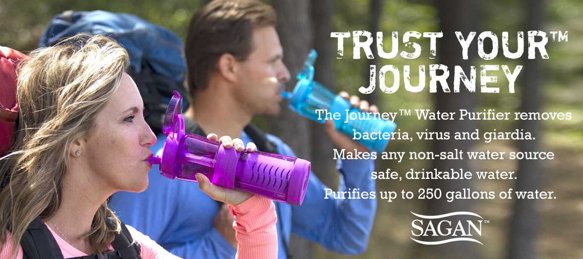 Sagan Journey Water Bottle